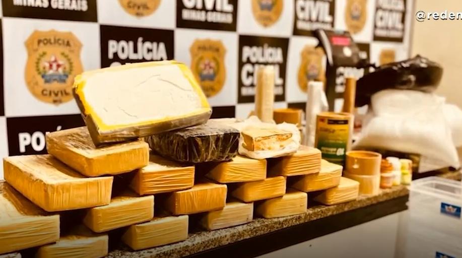 Juiz de Fora: Polícia Civil estoura laboratório de drogas