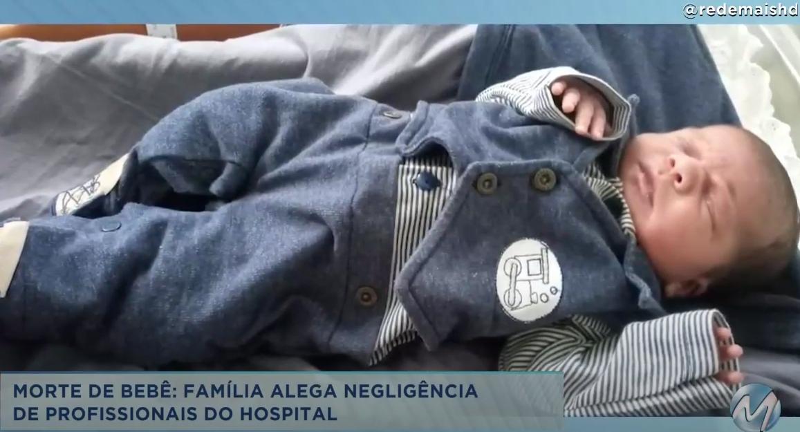 Morte de bebê com 6 dias: família alega negligência de profissionais de hospital em Elói Mendes