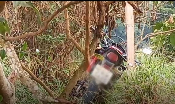 Dupla rende motociclista: moto roubada é recuperada na MGC-265