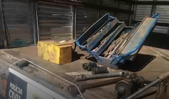 Furtos de peças de caminhão no Sul de Minas: prejuízo de mais de R$ 130 mil em um ano