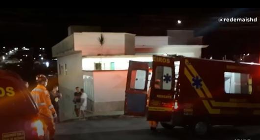 Alfenas: motociclista fica ferido em acidente