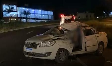 Varginha: enfermeira morre em acidente na Rodovia do Contorno
