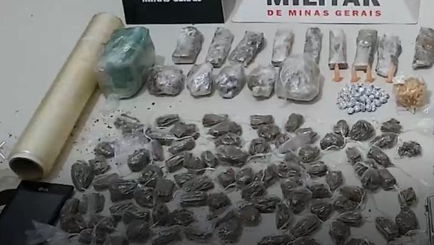 Campestre: drogas apreendidas durante operação contra o tráfico