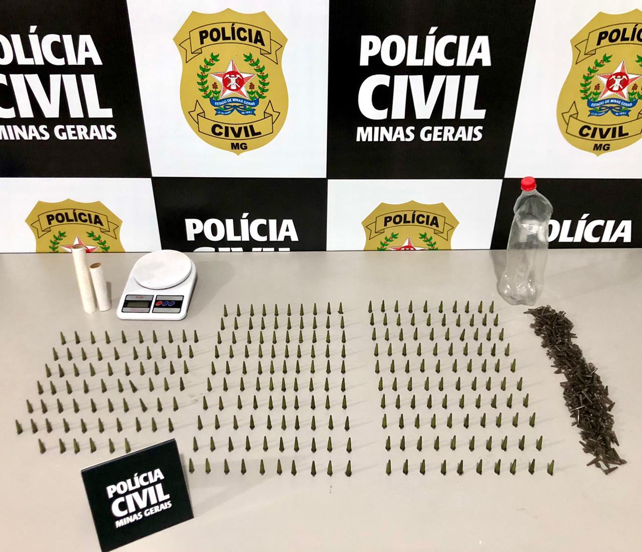 Divinésia: Polícia Civil faz operação contra tráfico de drogas