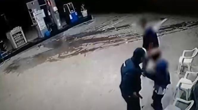 Varginha: câmeras registram assalto em posto de combustíveis
