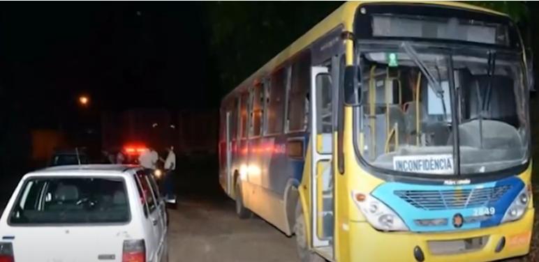 Muriaé: ônibus é incendiado na BR-356