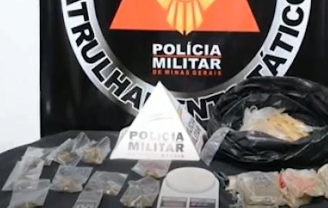 Muriaé: PM encontra drogas escondidas em pasto