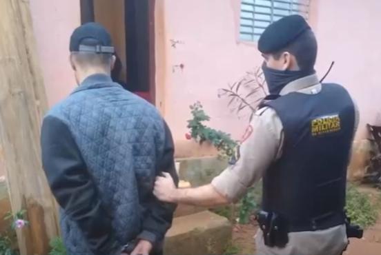 Suspeito de vários roubos é detido pela Polícia Militar na Zona da Mata