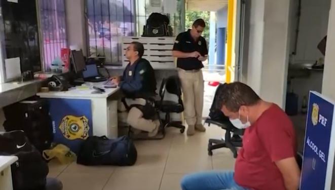 BR-116: homem é preso com grande quantidade de drogas em carro