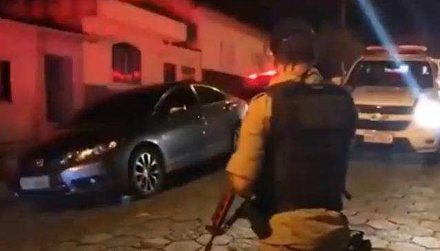 """""""Crime do sapatinho"""": ação frustrada termina com suspeitos presos no Sul de Minas"""