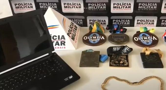Varginha: polícia recupera produtos furtados de uma casa