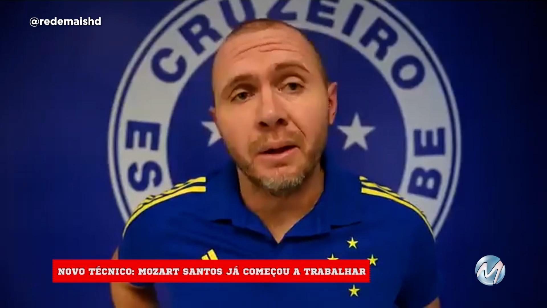 Cruzeiro apresenta novo técnico