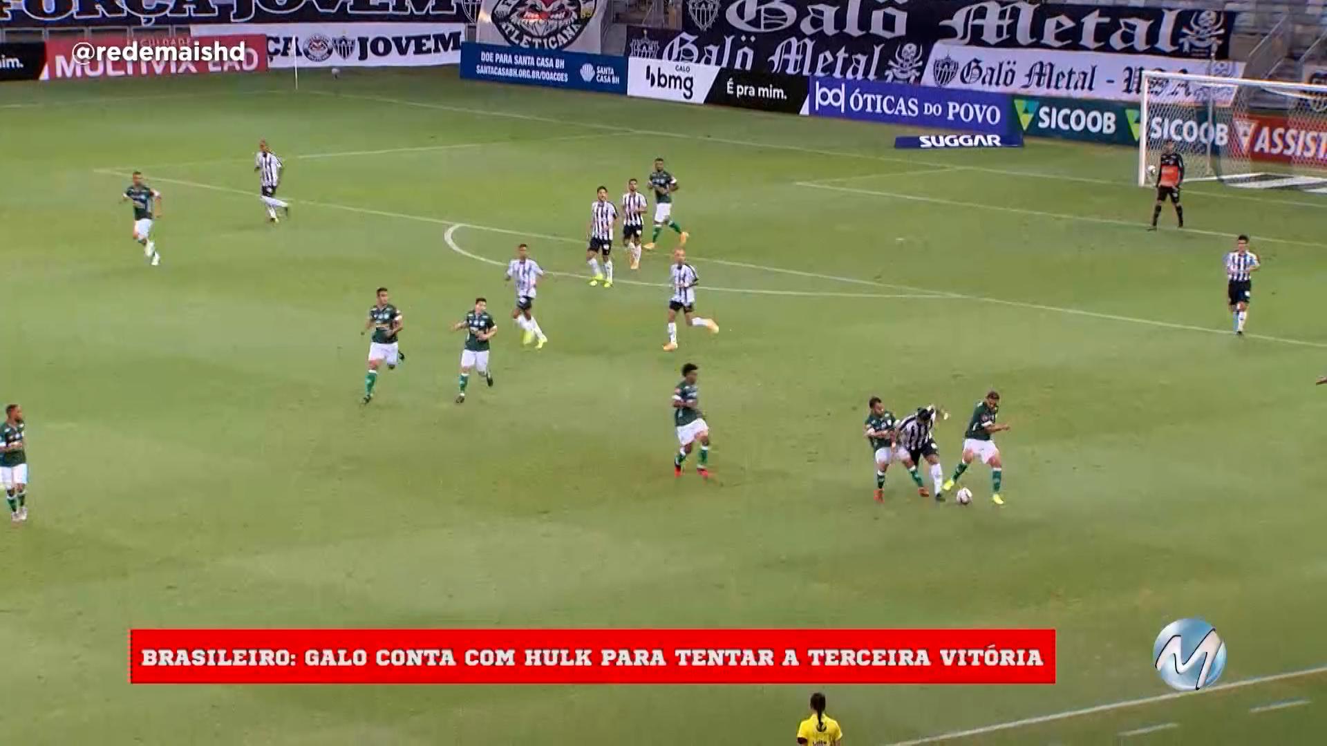 Galo e Cruzeiro em campo hoje