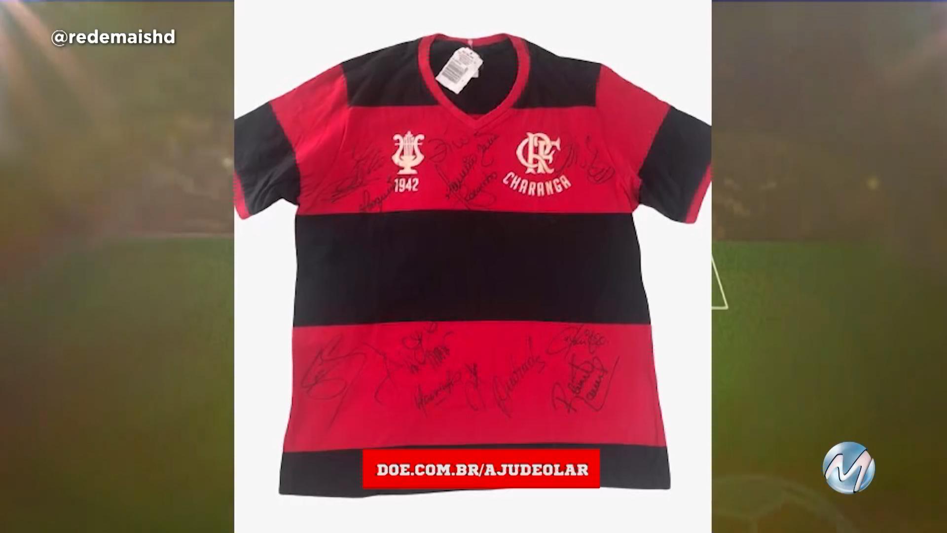 Ajude o Lar: concorra a uma camisa do Flamengo