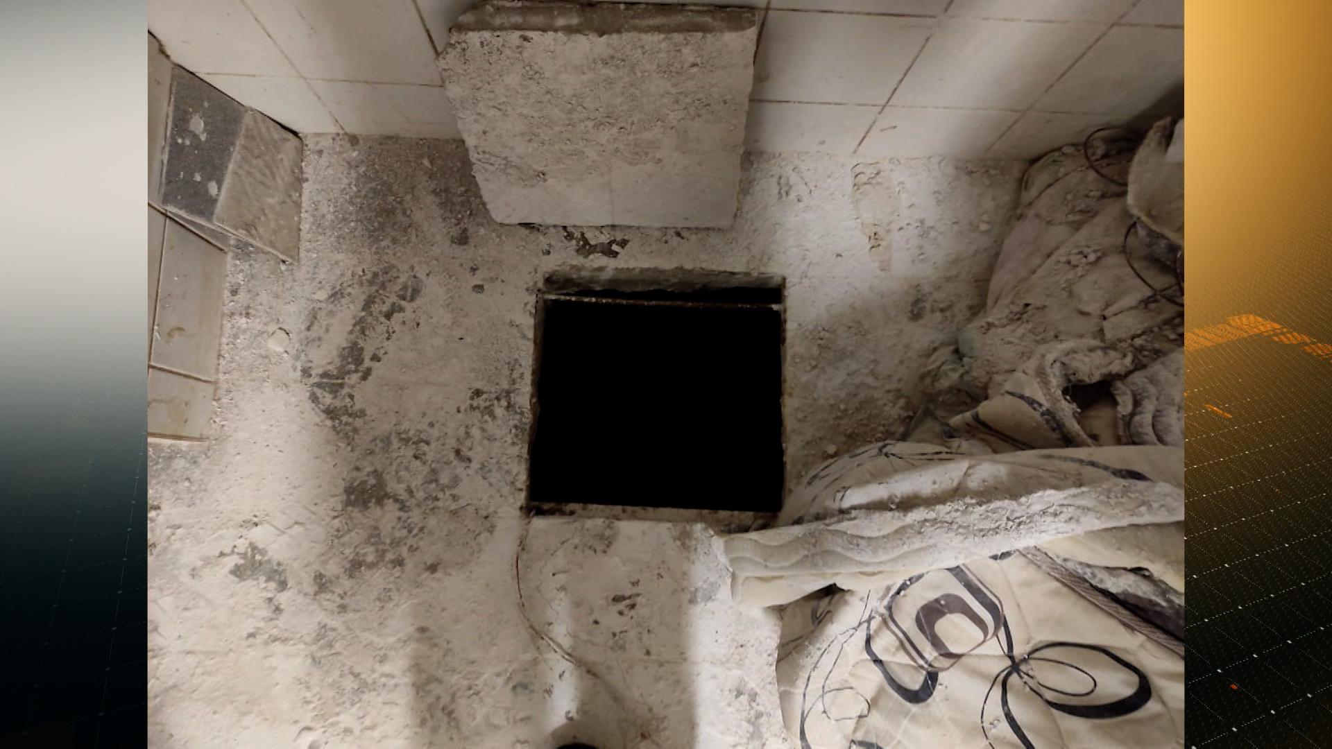 Polícia descobre túnel escavado no centro de Poços de Caldas