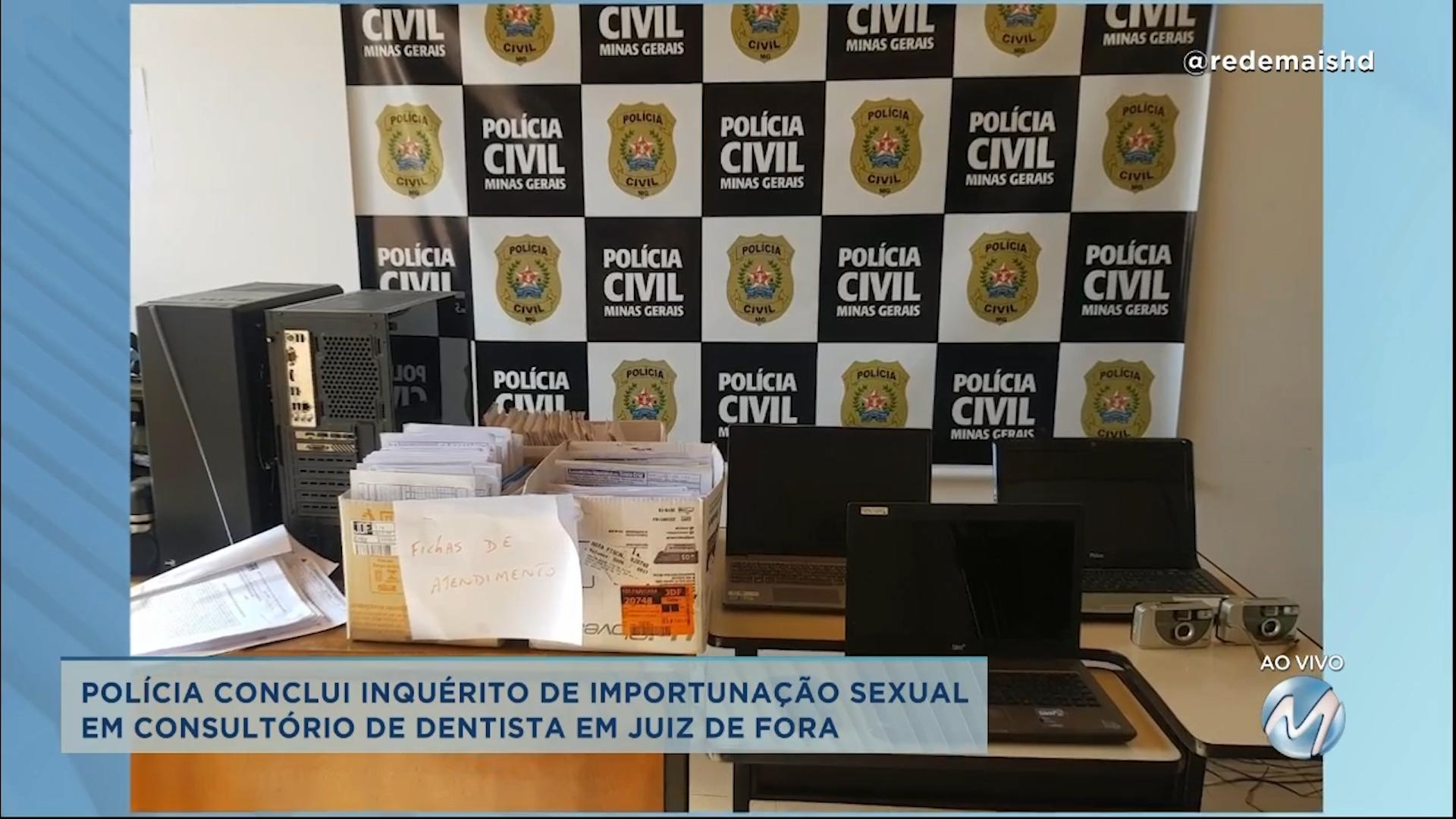 Polícia conclui inquérito de importunação sexual