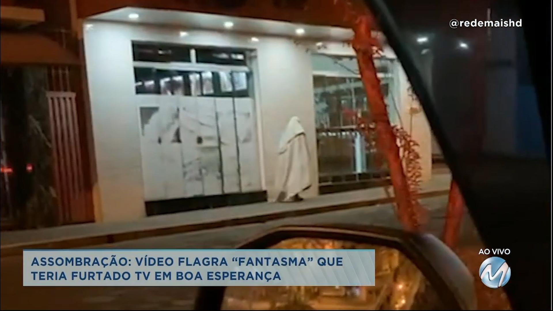 """""""Fantasma"""" teria furtado TV em Boa Esperança"""