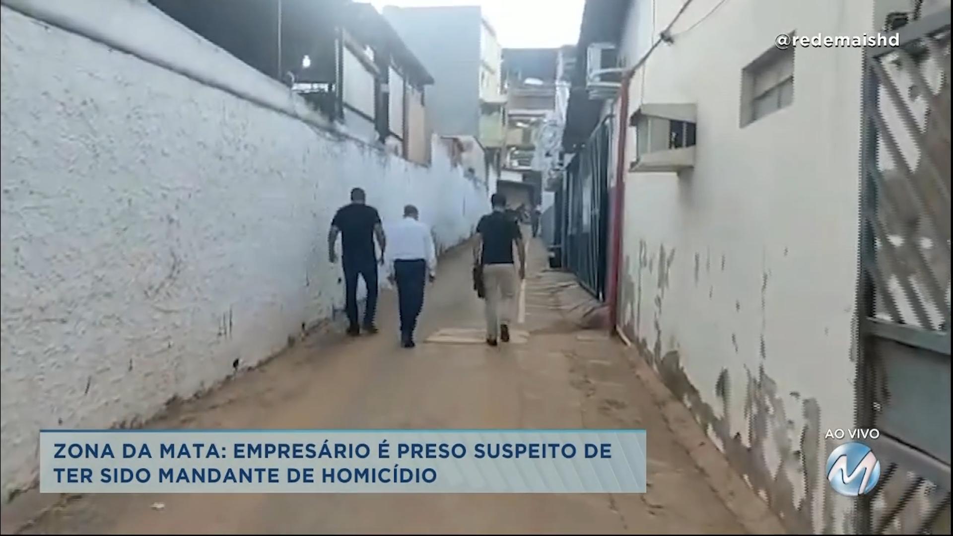 Empresário preso teria mandado matar funcionário