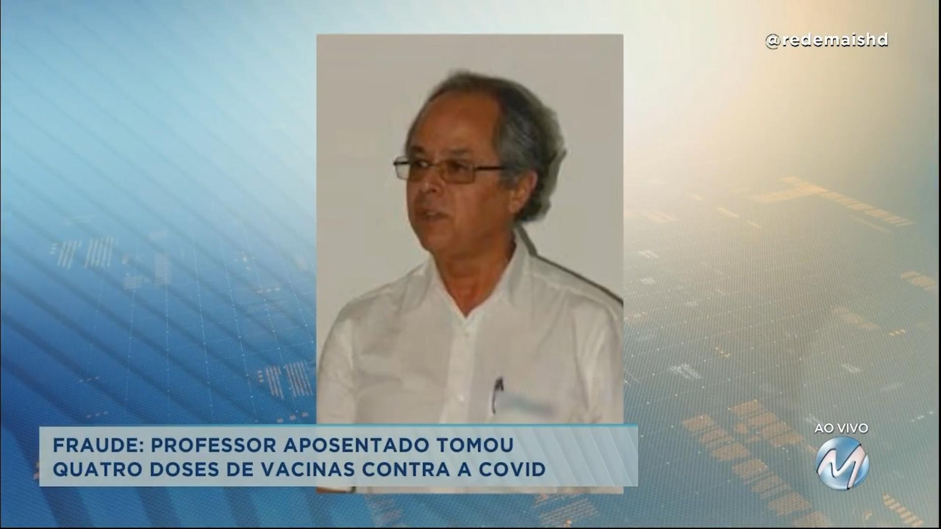 Fraude em Minas Gerais: professor aposentado tomou 4 doses de vacina contra a Covid-19