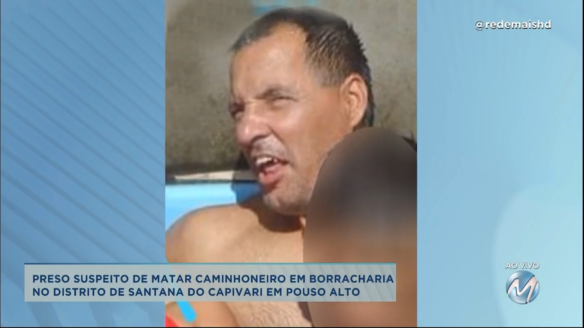 Preso suspeito de matar caminhoneiro em borracharia no Distrito de Santana do Capivari