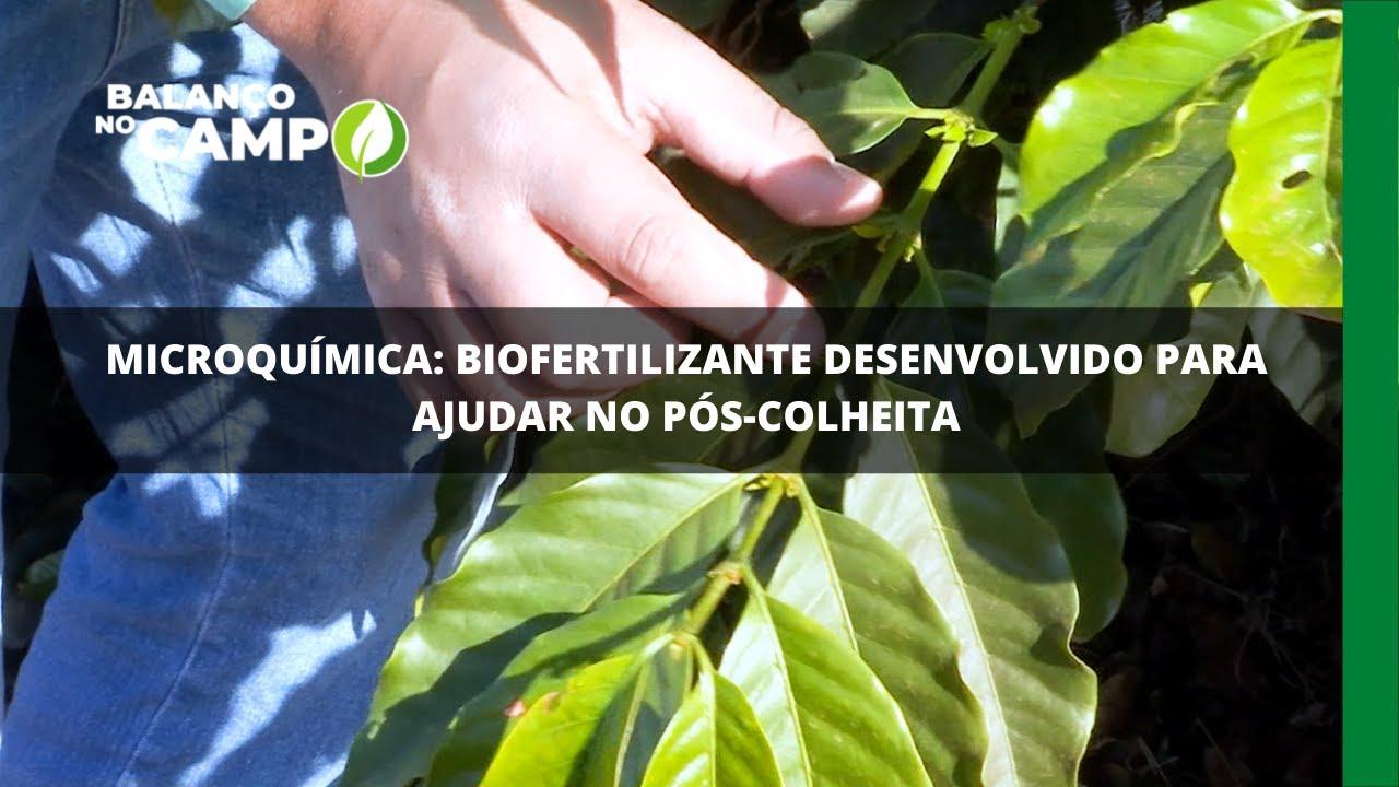 Microquímica: biofertilizante desenvolvido para ajudar no pós-colheita