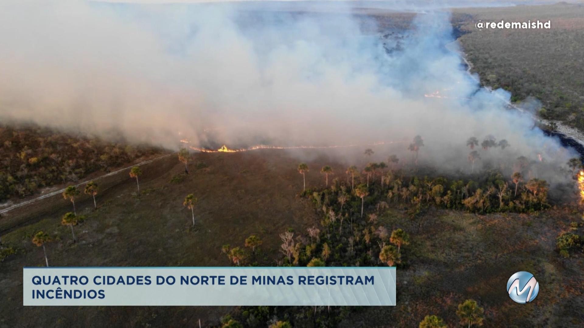 Cidades do Norte de Minas registram incêndios