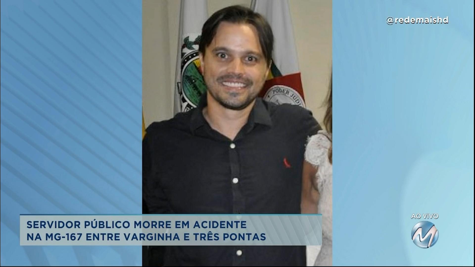 Servidor público morre em acidente entre Varginha e Três Pontas