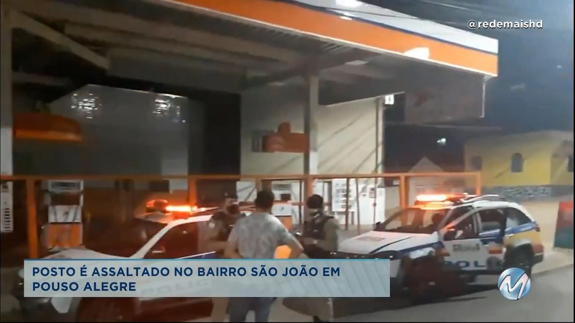 Posto é assaltado no bairro São João em Pouso Alegre