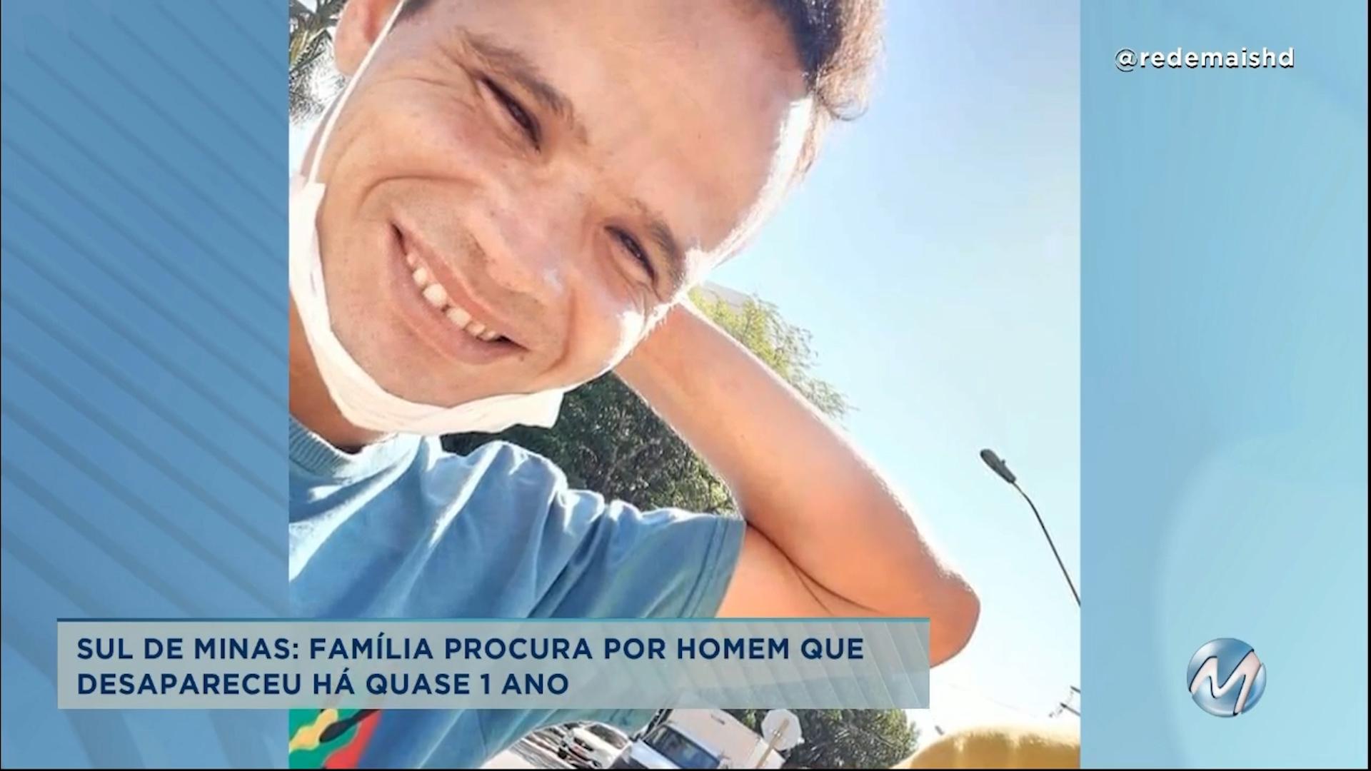 Família procura por homem que desapareceu em Itajubá