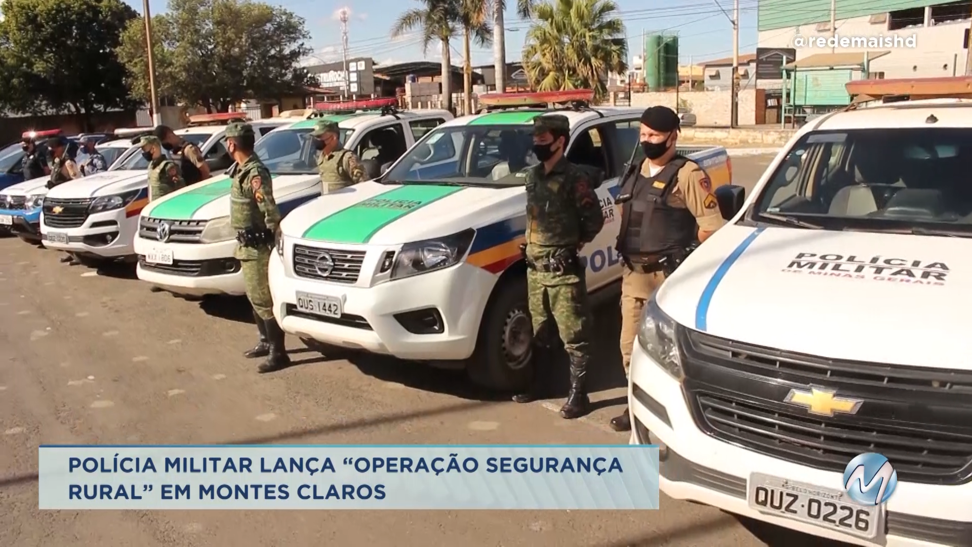 """Polícia Militar lança """"Operação Segurança Rural"""" em Montes Claros"""