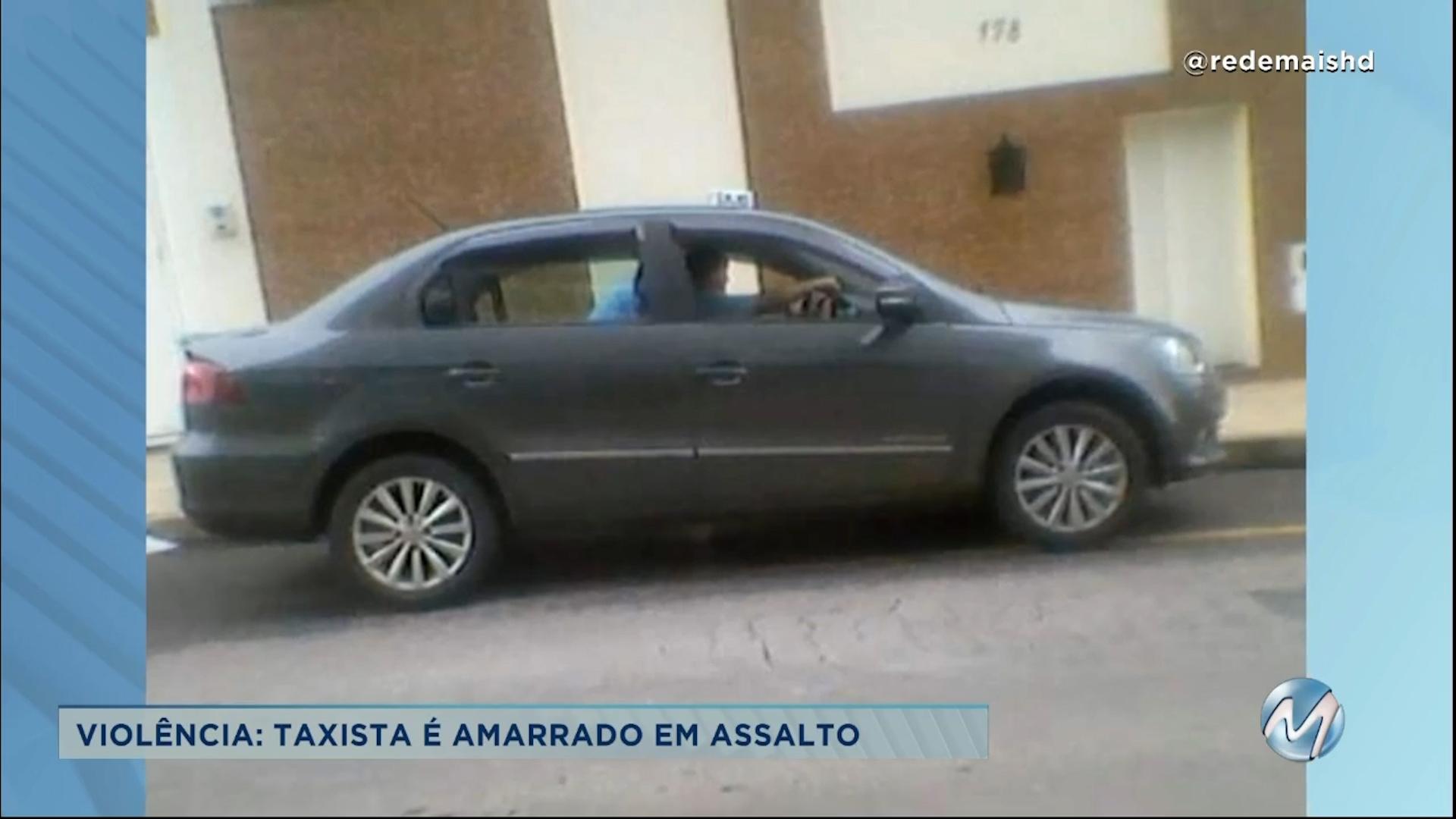 Crime no Sul de Minas: taxista é assaltado em Andradas