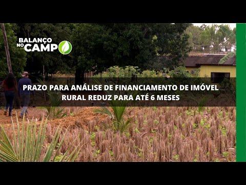 Prazo para análise de financiamento de imóvel rural reduz para até 6 meses