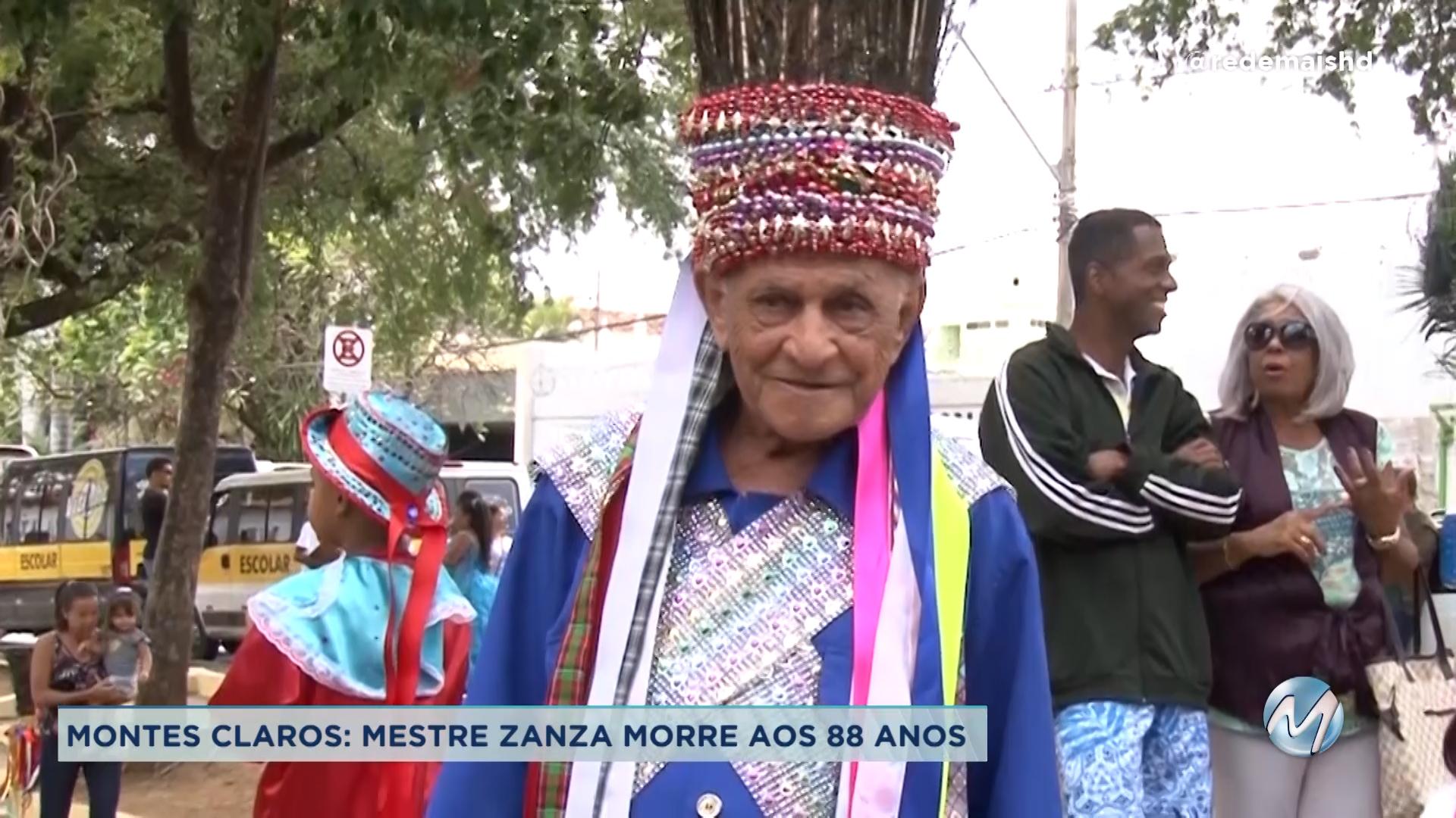 Mestre Zanza morre aos 88 anos em Montes Claros